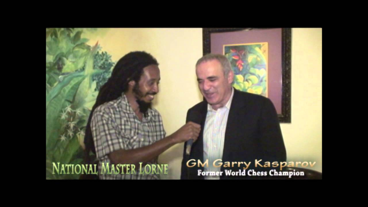 World Chess Champion Gm Garry Kasparov comes to Jamaica