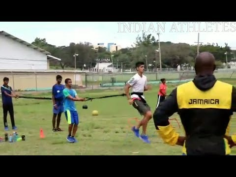 Athletes from India join Usain Bolt's training group to learn from the best